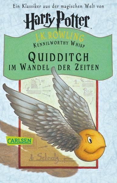 Dieses Buch wird erstmals in »Harry Potter und der Stein der Weisen« erwähnt. Dort ist es im Bestand der Bibliothek von Hogwarts zu finden. Es beschäftigt sich mit der Sportart Quidditch, die von Zauberern und Hexen auf fiegenden Besen gespielt wird, schildert außerdem die Entwicklung des Flugbesens, berichtet von früheren Besenspielen und stellt berühmte Quidditch-Mannschaften Großbritanniens und Irlands vor.