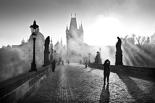 Black & White Streets of the World