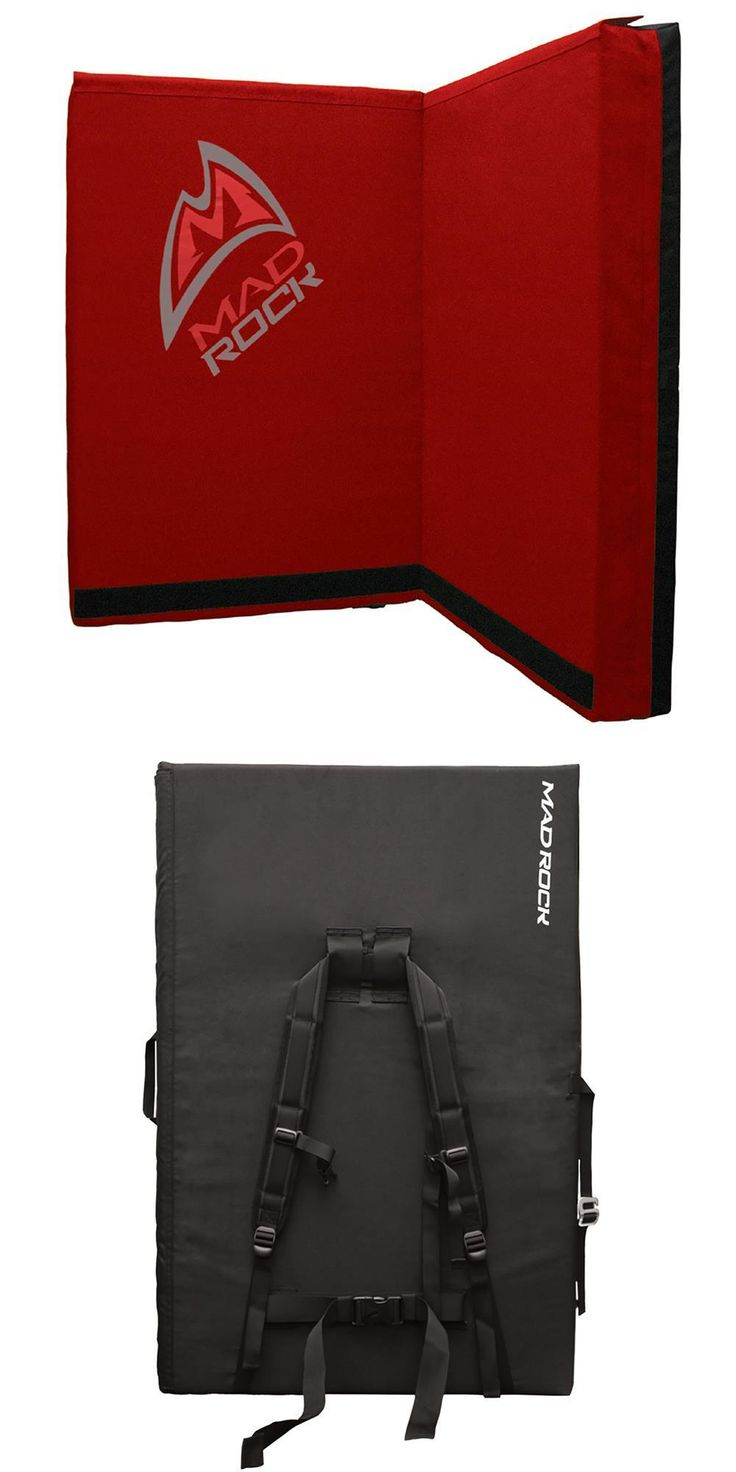 Other Climbing and Caving 1299: Mad Rock Mad Pad Crash Pad (Red) -> BUY IT NOW ONLY: $158.95 on eBay!