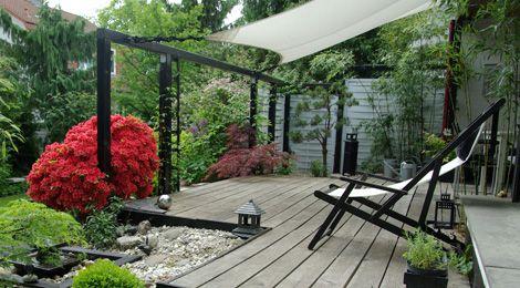 ob holzkonstruktion oder wie hier mit luftigen. Black Bedroom Furniture Sets. Home Design Ideas
