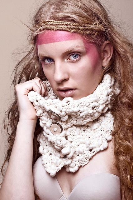 Cuello de algodón 100%. NO DISPONIBLE :( by Mercedes Galarce .:Miti - Mota:., via Flickr