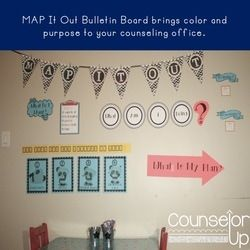 Decorate your office and help your students create goals with the MAP It Out Bulletin Board. Using Control Theory, students can identify the purpose of their behavior, current behaviors, and identify goals and a plan for moving forward.