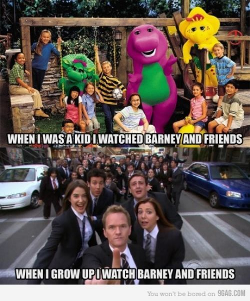 Barney and friends: With, Mother, So True, Funny Stuff, Barney, Friend