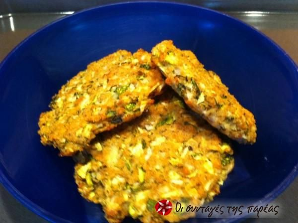 Zucchini fritters in the oven #cooklikegreeks