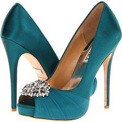 Badgley Mischka Pettal- Wedding Shoes!!