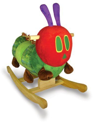 Part of the Very Hungry Caterpillar Nursery collection, this rocker is something that you can build on too if you're a fan… I would also pair this with the book because it's such a classic and a right of passage! #parenting #parents