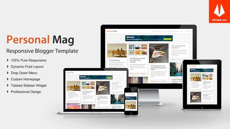 Responsive Blogger Template v4 Personal Mag is a clean responsive Blogger blog theme idealy design for gallery, modern, personal and professional blogs.