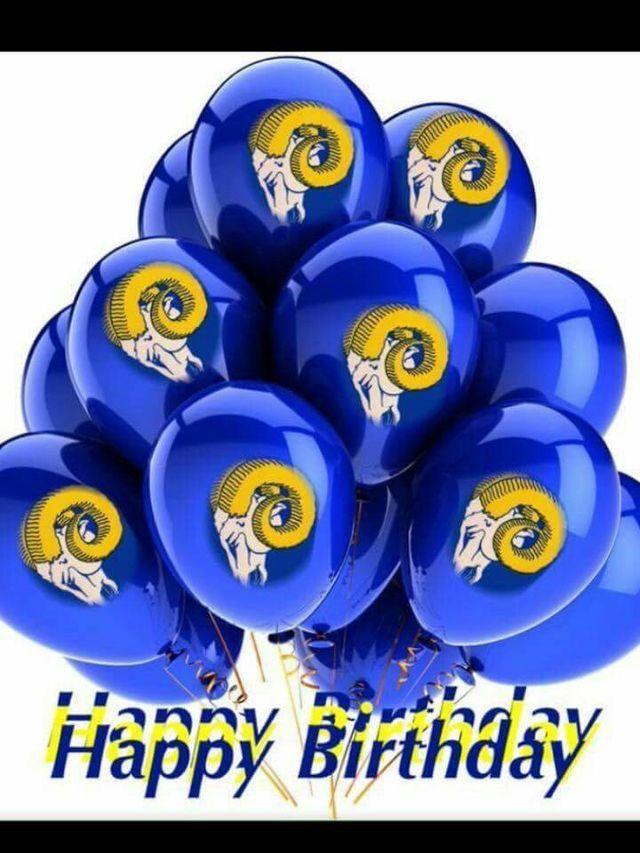 Pin by lynette on Birthdays   La rams, Sports, American ...