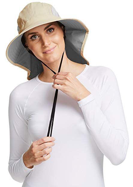 5009e83c Solbari UPF 50 Womens Outback Sun Protection Sun Hat - UV Protection, Sun  Protective Review