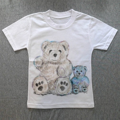 My Hand Painted t-shirts for 4 yrs. old