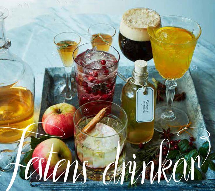 Hemkop.se | Festens alkoholfria drinkar