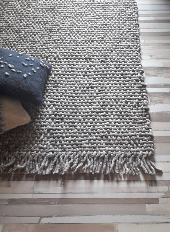 Hey, I found this really awesome Etsy listing at https://www.etsy.com/listing/538879369/gray-woven-wool-rug-4x6-area-rugs