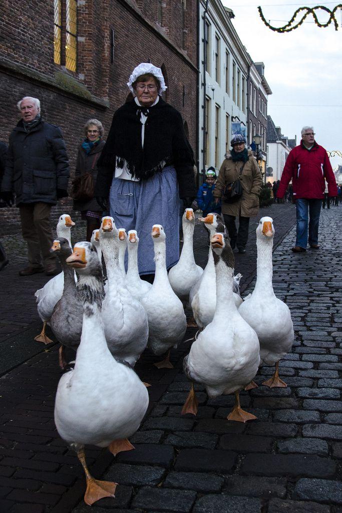 Kerst in de Vesting, Elburg, Gelderland.