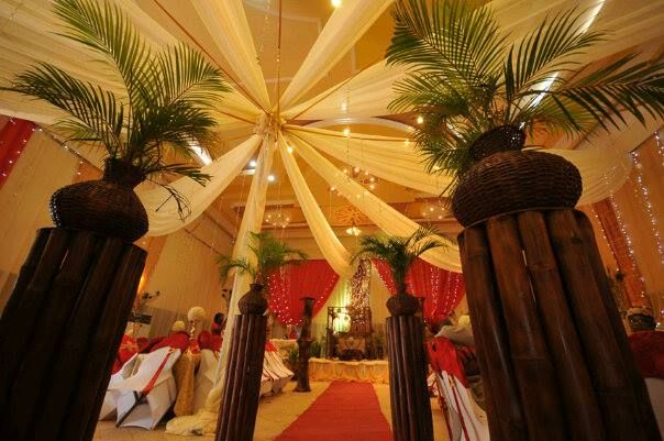 11 best traditional wedding decor images on pinterest african traditional nigerian wedding decor junglespirit Choice Image