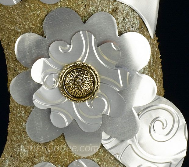 Best 20 aluminum can flowers ideas on pinterest tin for Aluminum can crafts patterns