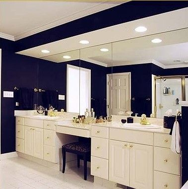 Before After Bathroom Mirror Makeovers
