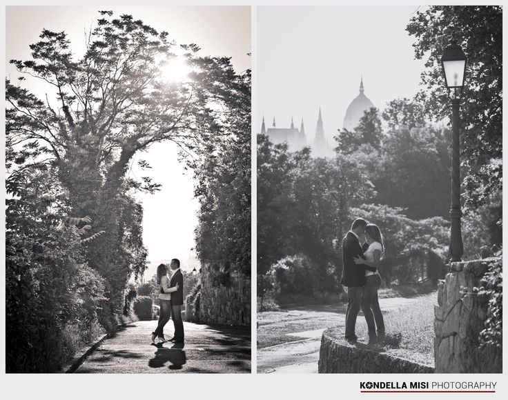 Budapest engagement session #e-session #castle