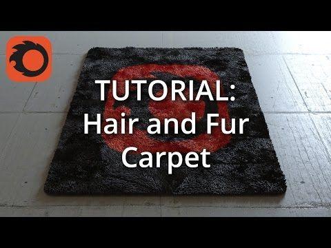 (Corona 1.3) Tutorial: Hair and Fur Carpet - YouTube