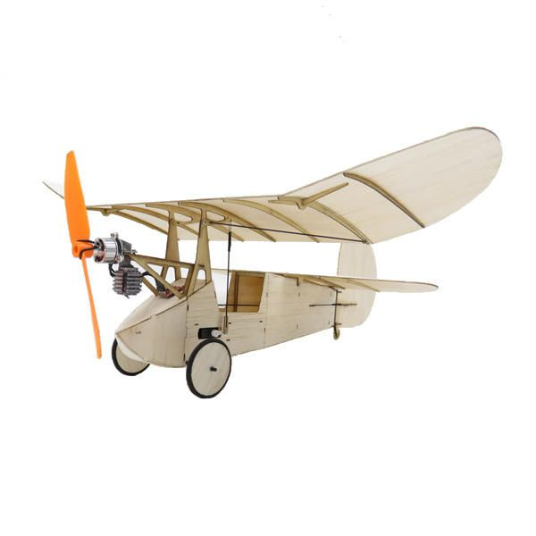 Flea Brushless Version Balsa Wood 358MM Wingspan Newton Micro RC Airplane