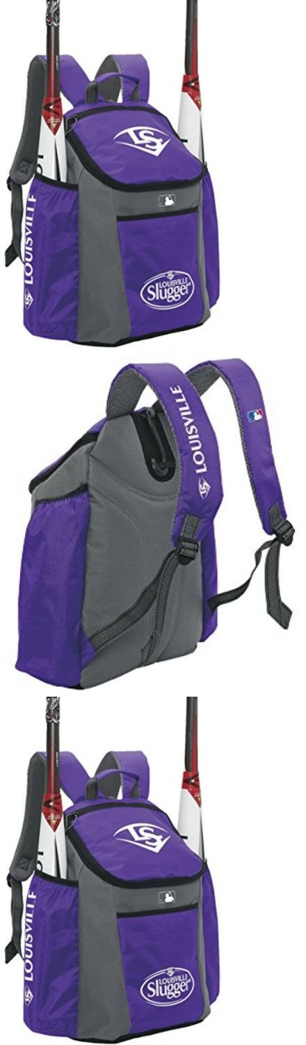 Equipment Bags 50807: Louisville Slugger Eb Series 3 Stick Pack Baseball Equipment Bags, Purple -> BUY IT NOW ONLY: $38.5 on eBay!