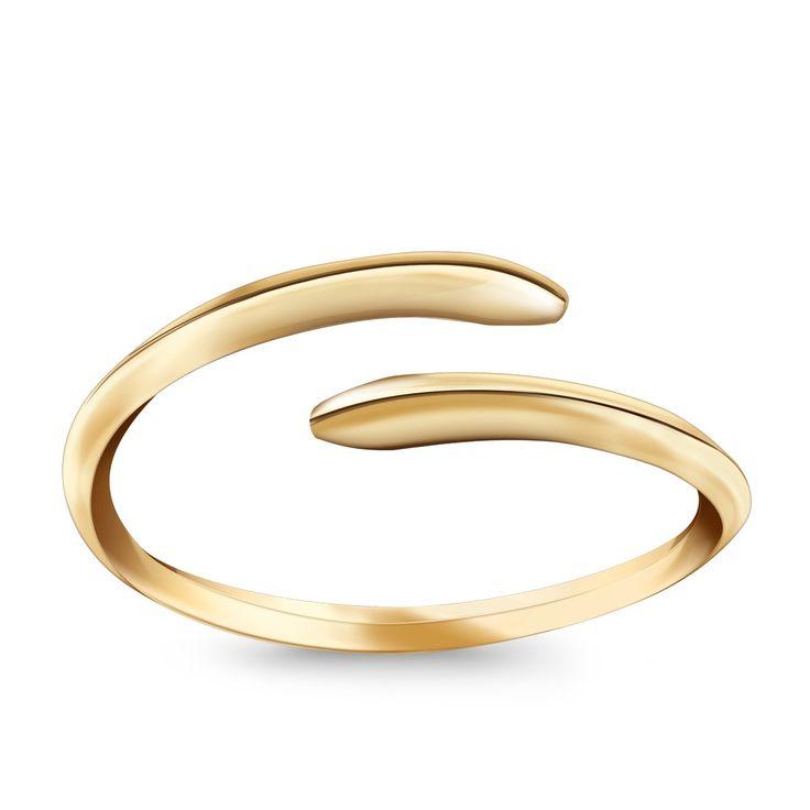 Złoty pierścionek Wild One, 649 PLN | Kup na http://YES.pl/wild-one-zloty-pierscionek-26134 | #BizuteriaYES #gold #jewellery #fresh #spring #time #details #shoponline #accesories #pretty #style