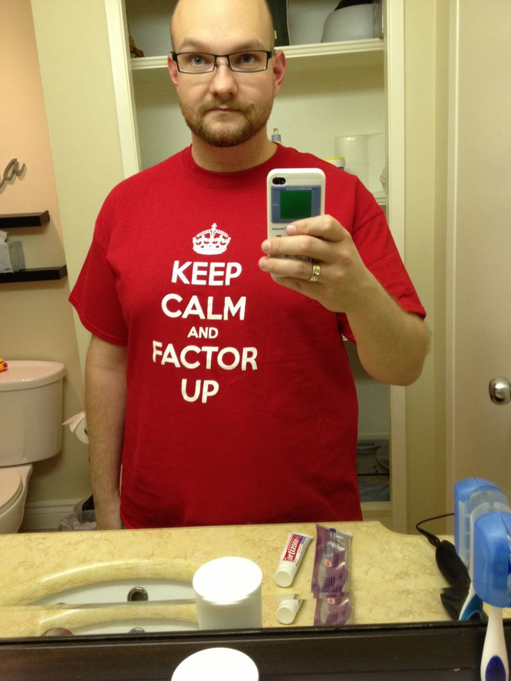 Cool shirt I should get for my son, Sam, who has severe Hemophilia B