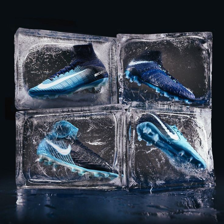 The new Nike Ice Pack introduces stylish blue - turquoise looks for Nike Hypervenom, Magista, Mercurial and Tiempo soccer cleats.