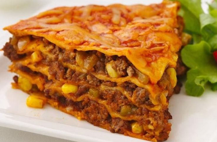 Beef Enchilada Pie - http://33recipes.com/2016/05/23/beef-enchilada-pie/