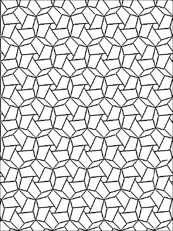 102 best images about Geometric Patterns Coloring Pages on