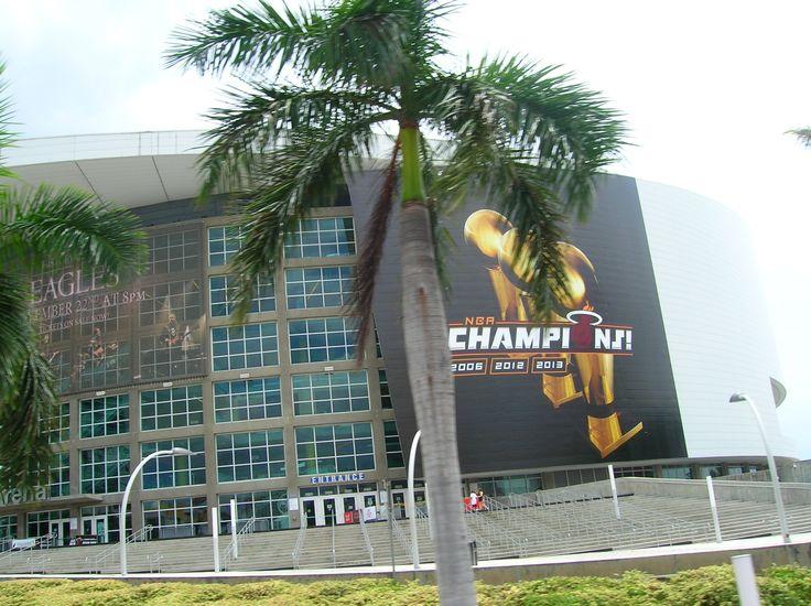 American Airlines Arena #MiamiHeat