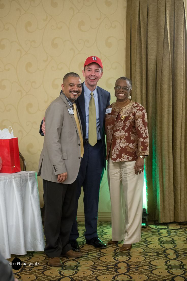 Dwayne T. James, Dr. Marshall Stewart and J. Toni Burrow at the March 31, 2017 Annual Dinner