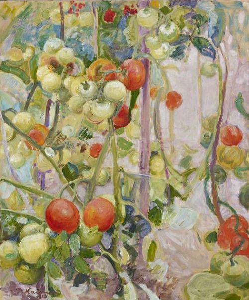 Pekka Halonen, Tomatoes, 1913