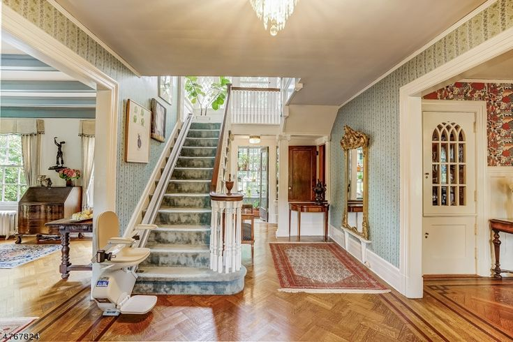 Pinterest Beautiful staircase in a 1904 home in South Orange NJ