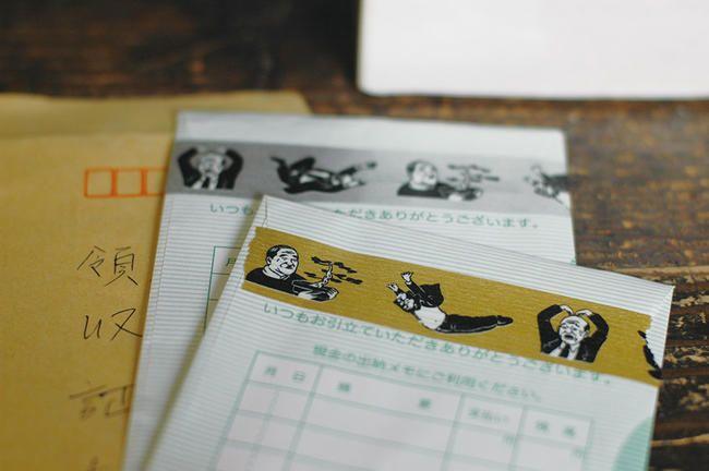 【楽天市場】[メール便・定形外OK]ナンシー関 マスキングテープ おじさん(パッケージ付):HREM