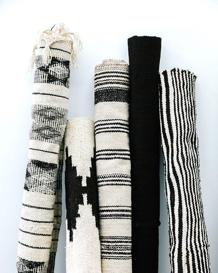 + Monochrome rugs ...