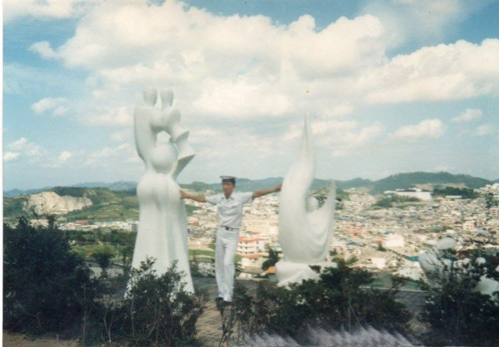 Please+show+me+your+surprising+photos+of+your+travel;+photos+at+Yudalsan+Mountain+Sculpture+Park+in+1989