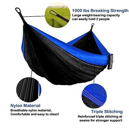 Relaxing Camping Hammock Tree Portable Garden XL Double Capacity Travel Hiking  #CampingHammock