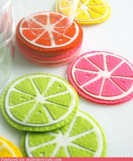 So cute, but I seriously do not have time for crafts projects. =(