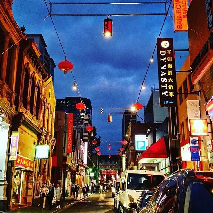 Melbourne's Chinatown is just steps from Rydges Melbourne's front doors.