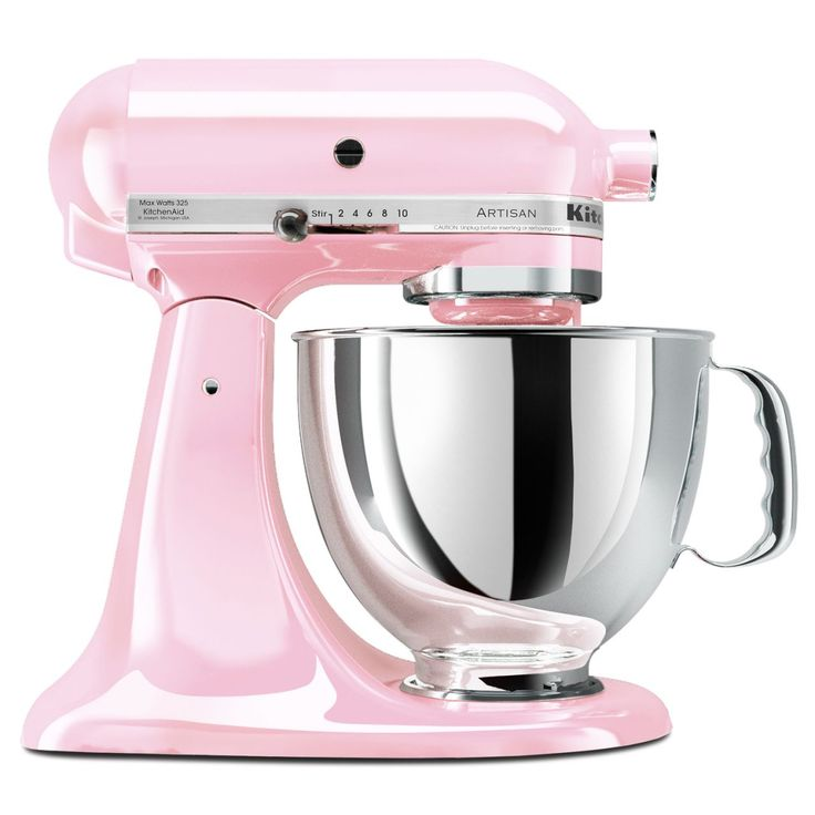 KitchenAid® Pink Artisan Stand Mixer | Best item I own!