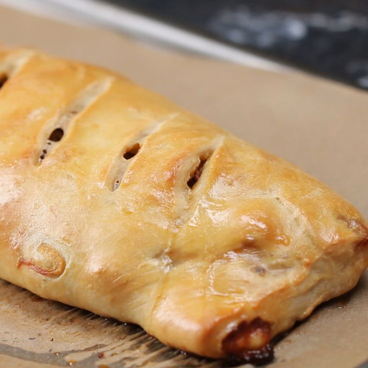 how to make cheese and onion sausage rolls