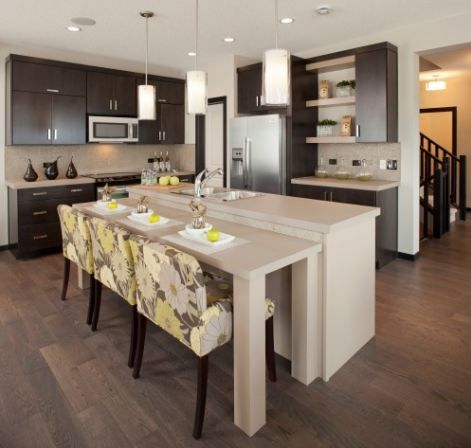 17 Best Images About Kitchen Island Table Combinations On Pinterest Countertops Small
