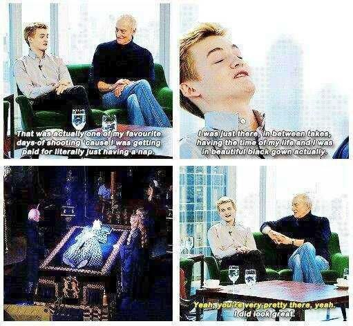 Jack Gleeson and Joffrey Baratheon are two different people