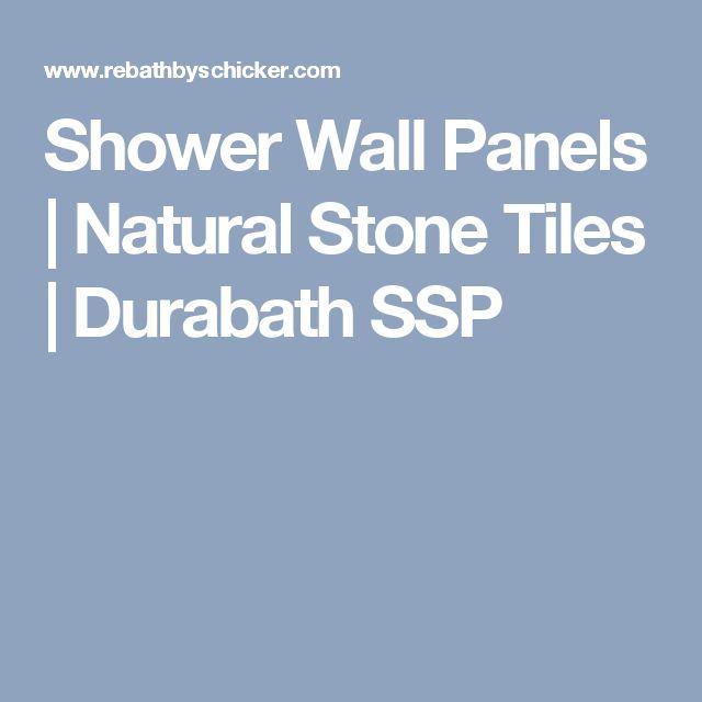 Shower Wall Panels | Natural Stone Tiles | Durabath SSP