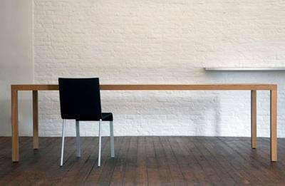 Tafel & stoel: Maarten van Severen