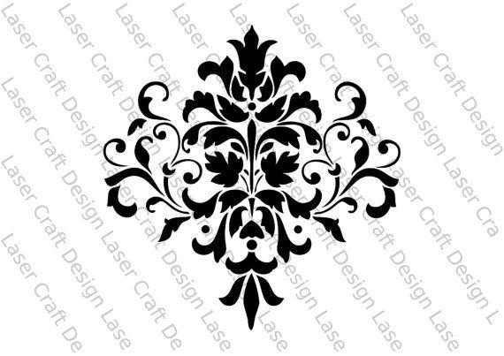 25  best ideas about damask stencil on pinterest