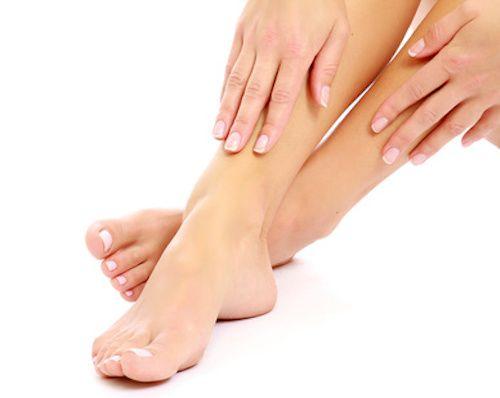 bain de pieds relaxant pour les pieds fatigués - recette