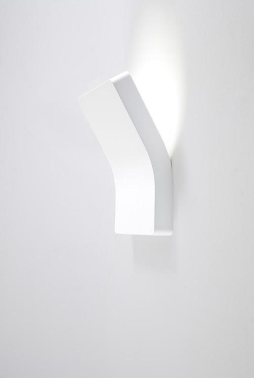PLATONE Filippo ProtasoniArchitecture Wall, Wall Lamps, Indoor Wall Lights, Indirect Lights, Indoor Lights, Platonic Filippo, White Sconces, Design Lights, Simple Sconces