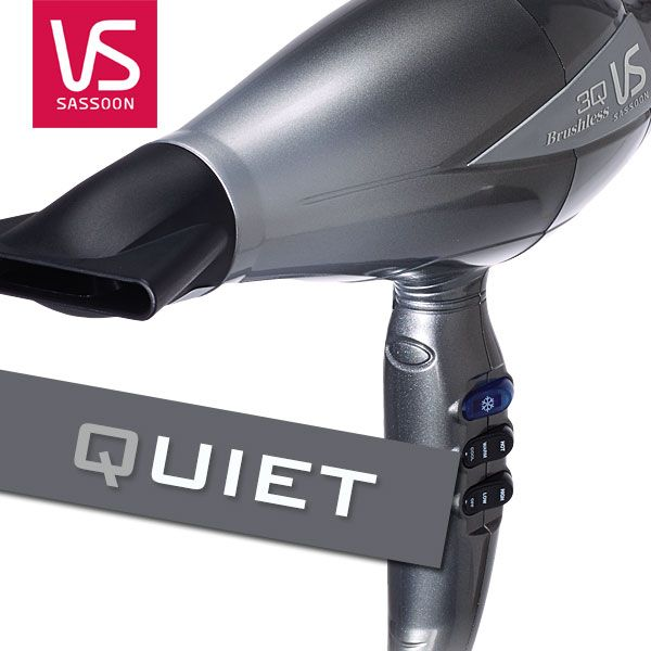 QUIET - NOISE REDUCTION TECHNOLOGY up to 40% less noise with patent pending noise reduction technology.
