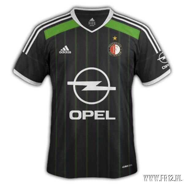 dit zou het nieuwe uit shirt van Feyenoord zijn volgens fr12